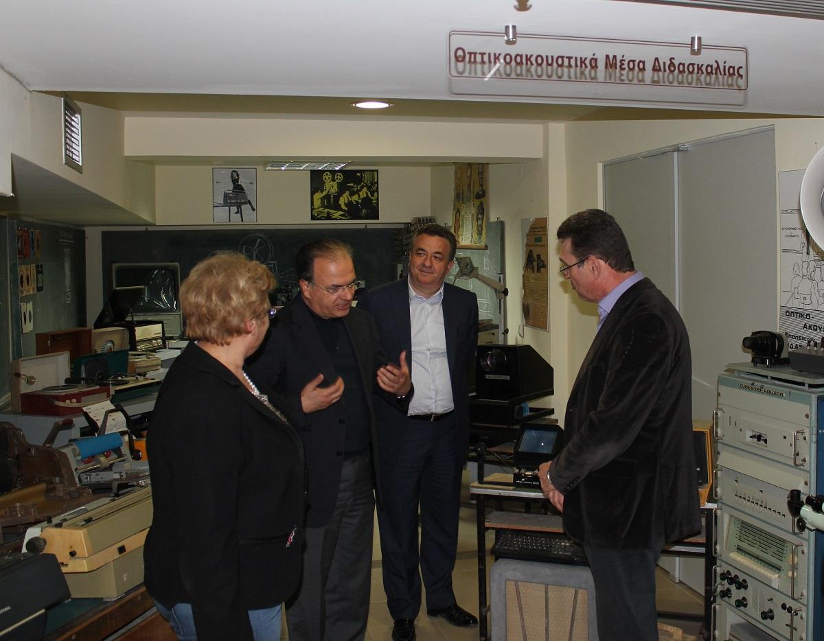 Επίσκεψη Περιφερειάρχη Κρήτης