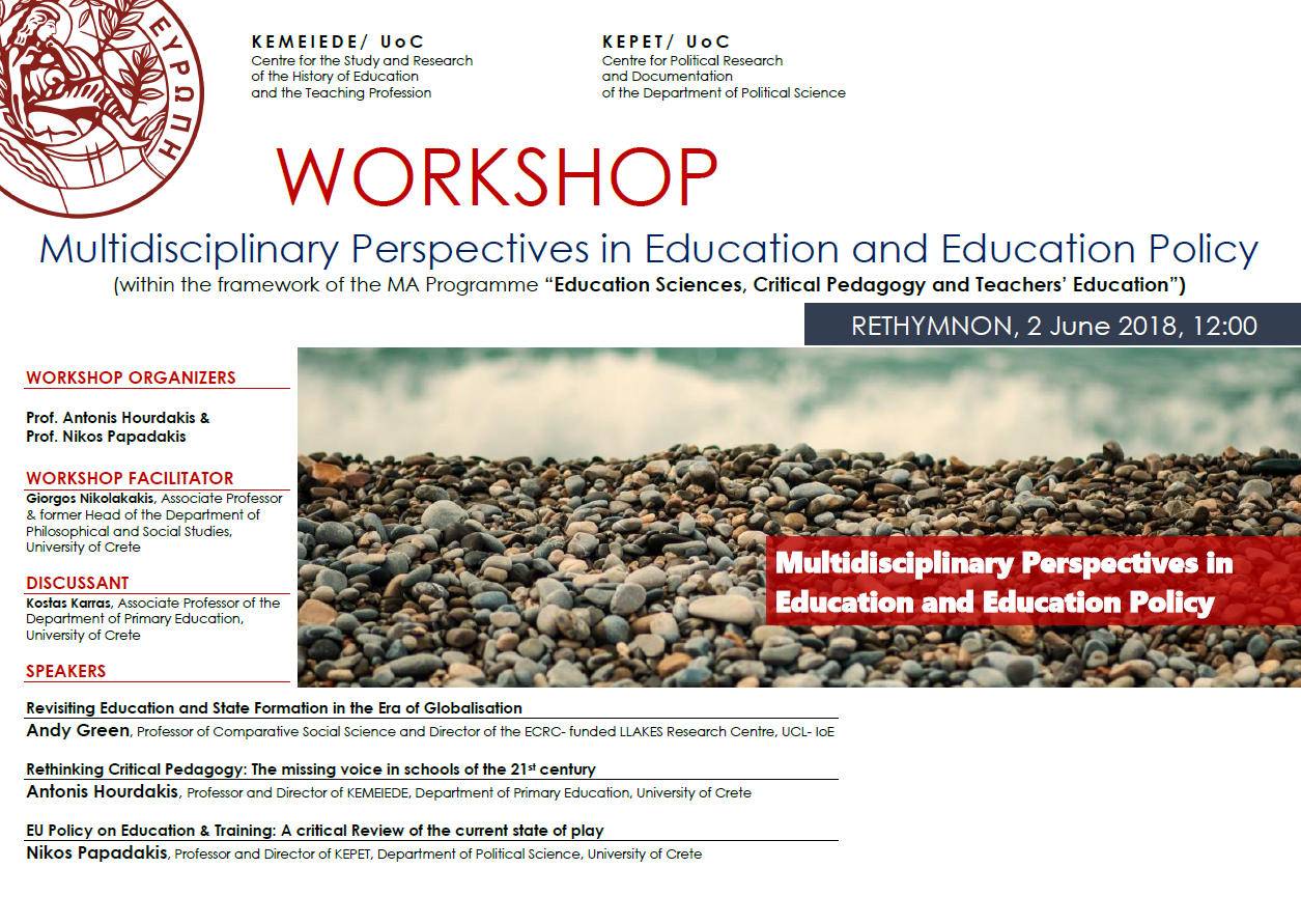 Multidisciplinary Perspectives in Education and Education Policy (2)